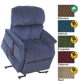 "3 Position 28"" XWide Large Recliner Chair With Dual Motors-500Lb"