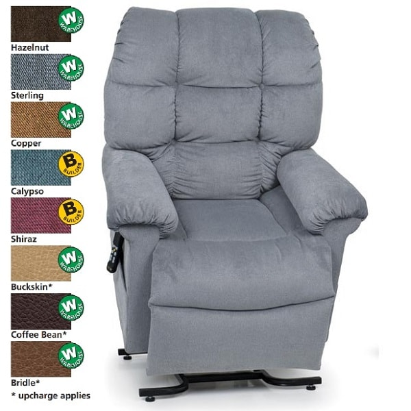 "19"" Zero Gravity Cloud with MaxiComfort Reclining Lift Chair-375"