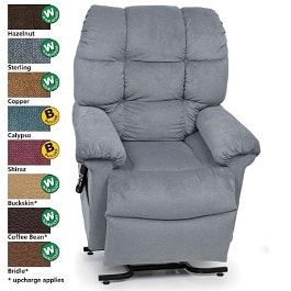 20 Inches Zero Gravity Cloud Reclining Lift Chair 375Lb Cap by Golden Technologies