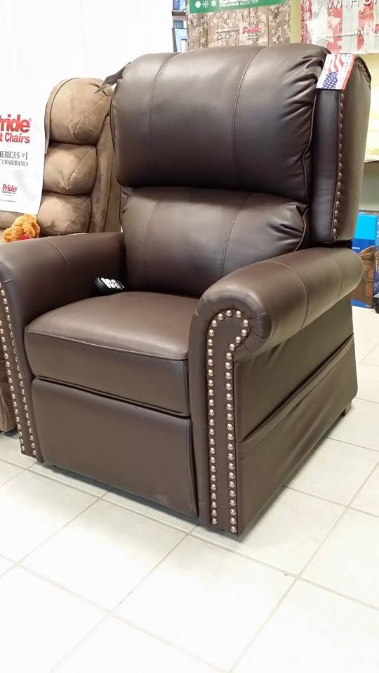 Buy 21 Inches Pub Reclining Lift Chair Maxi Comfort Series...