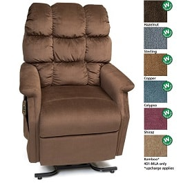"20"" Cambridge Lift Chair Traditional Series 3 Position-375Lb Cap"