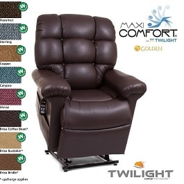 "20"" Twilight Zero Gravity Reclining Lift Chair-375Lb Cap"