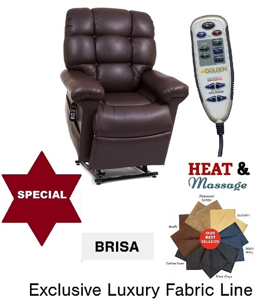 Amazing Houston Rental Deluxe Cloud Small Zg Lift Chair With Brisa Heat Massage Uwap Interior Chair Design Uwaporg