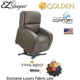 Twilight EZ Sleeper Maxi Comfort With Luxury Brisa Fabric-375 Lb