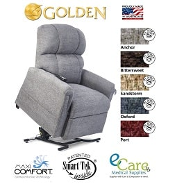 Small Zero Gravity Comforter Lift Chair Recliner-375 Lb Cap