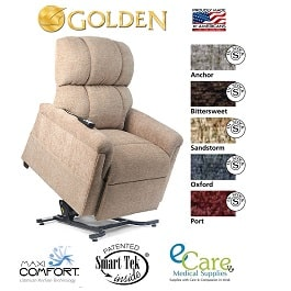 Medium Zero Gravity Comforter Lift Chair Recliner-375 Lbs Cap