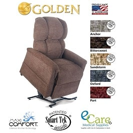 Large Zero Gravity Comforter Lift Chair Recliner-375 Lb Cap