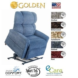 Tall Zero Gravity Comforter Lift Chair Recliner-375 Lb Cap