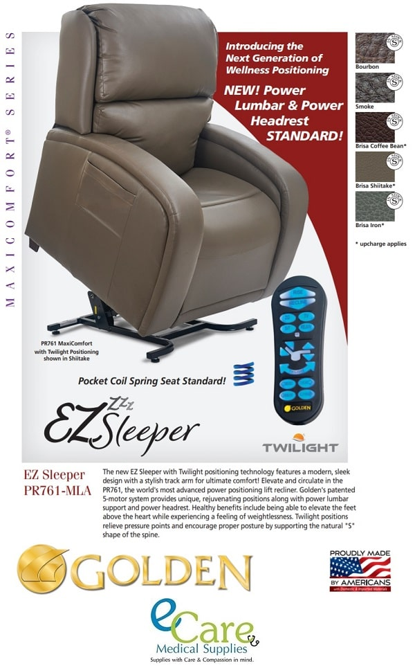 EZ Sleeper MaxiComfort with Twilight Technology - 375 Lbs Cap