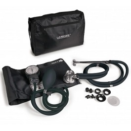 Sphygmomanometer w/ nylon color cuff and Stethoscope-Grape