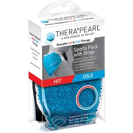TheraPearl Hot and Cold Therapy Sports Pack With Strap