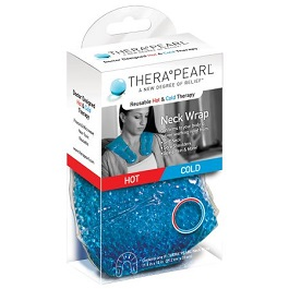 TheraPearl Hot and Cold Therapy Neck Wrap