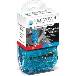 TheraPearl Hot and Cold Therapy Shin Wrap 2 Pack
