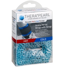 TheraPearl Hot and Cold Therapy Wrist and Ankle Wrap