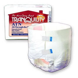 Tranquility Brief with Tab Closure Large-12 Count