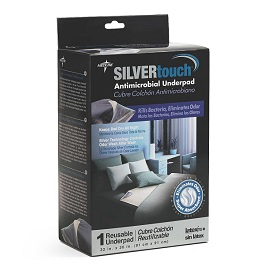 "Silver Touch Antimicrobial Underpads 32"" X 36"""
