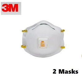3M 8511 N95 Masks 2 Count by 3M