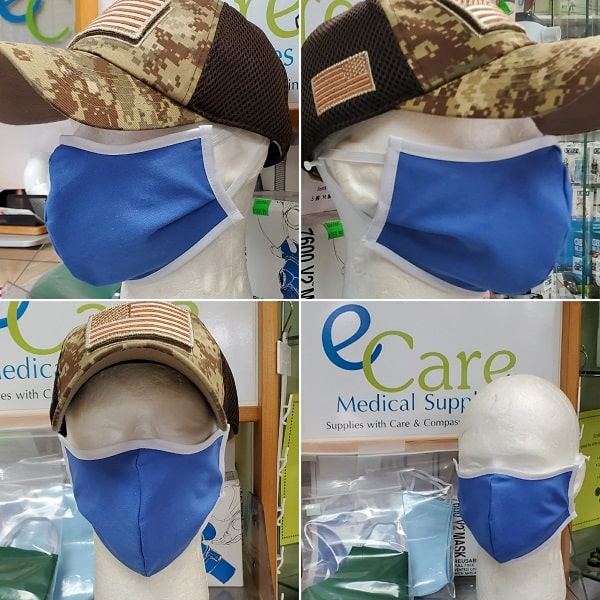 USA Made Polyester & Washable Face Mask - 1 Count