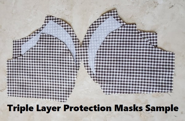 USA Made Polyester & Washable Face Mask