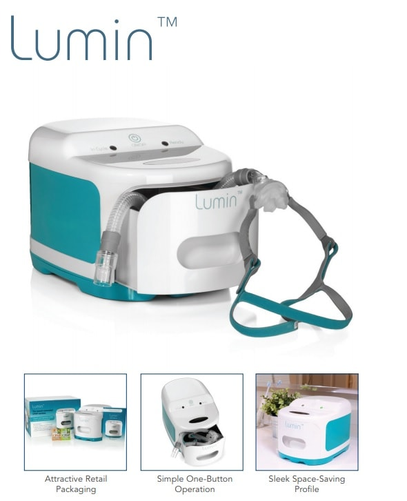 Lumin UV Sanitizer for CPAP Masks & General Purpose Disinfecting
