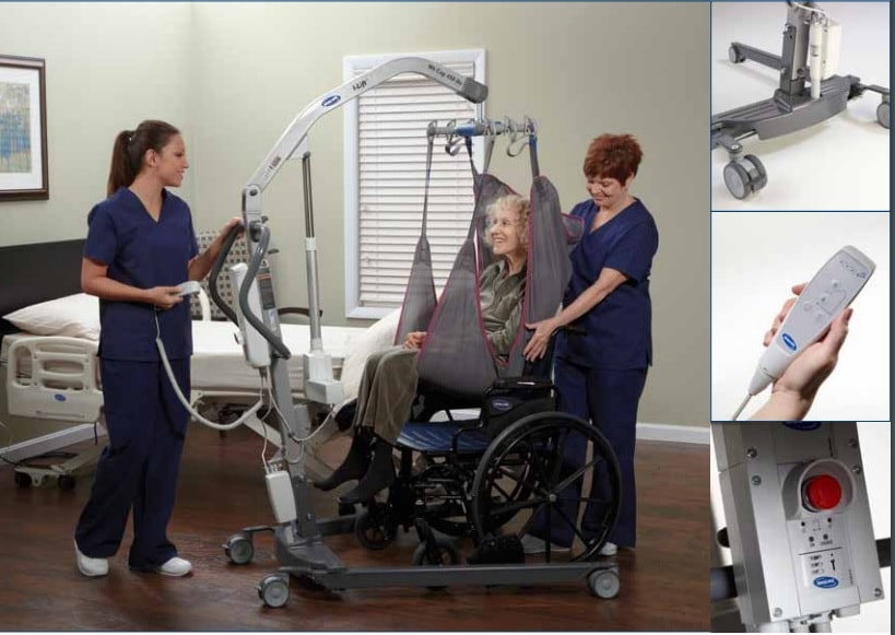 Invacare I-Lift Power Plus Patient Lift with Base