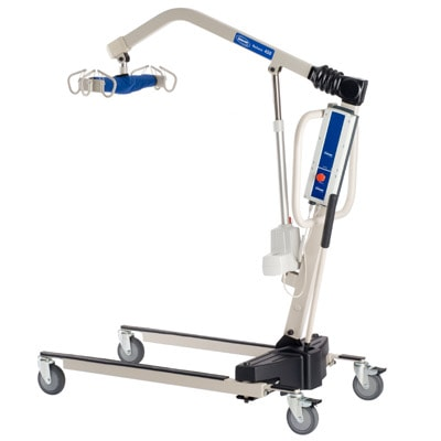 Reliant Battery Powered Patient Lift with Low Base-450 Lb Cap