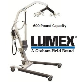 Lumex Easy Lift Electric Hoyer Lift - 600 Lb Cap