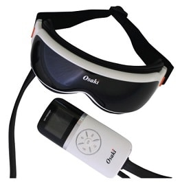 Vibration - Air Compression Eye Massager in Houston TX by Osaki