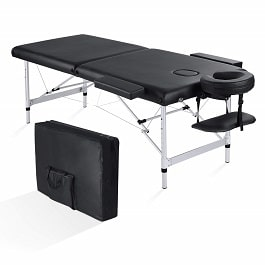 Professional Folding Massage Table - Aluminum Frame in Houston TX by Maxkare