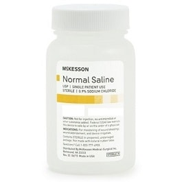 Normal Sterile Saline Water Solution - 1000 ML in Houston TX by McKesson