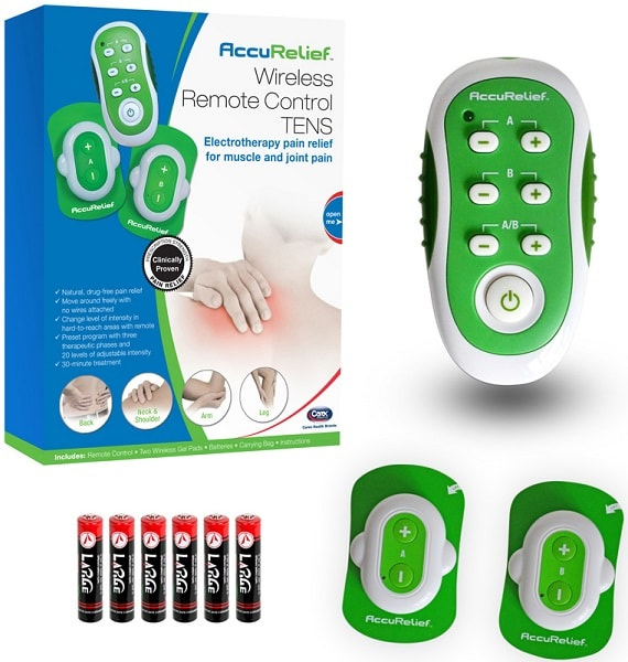 AccuRelief Wireless Remote Control TENS