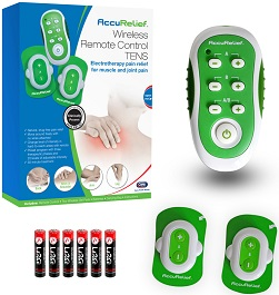 AccuRelief Wireless Remote Control TENS Unit   Pain Relief in Houston TX by Carex