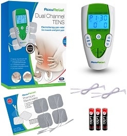 AccuRelief Dual Channel TENS Unit   Pain Relief in Houston TX by Carex