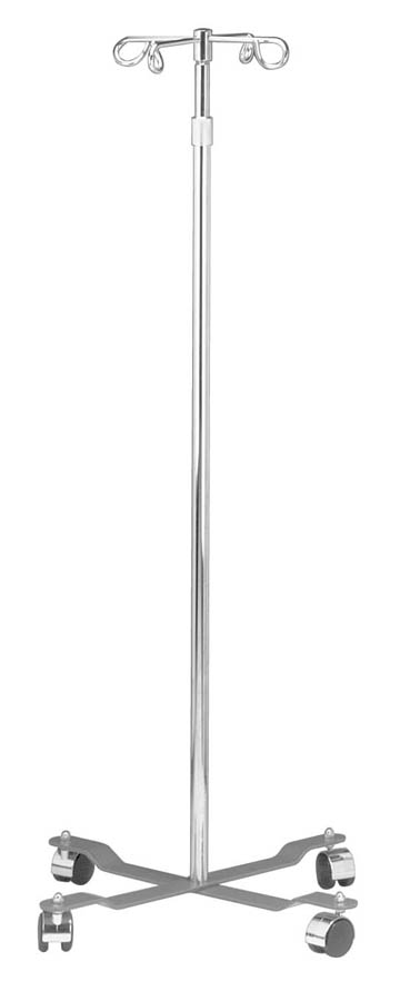 Mobile Adjustable IV Pole