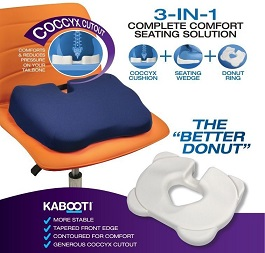 Kabooti Seat Cushion 3 in 1 in Houston TX by Contour Products, Inc.
