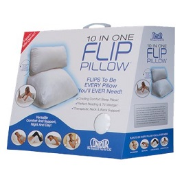 Flip Pillow - 10 Pillows in 1