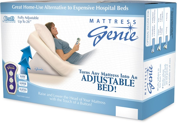 mattress genie adjustable bed wedge many sizes available - Bed Wedges
