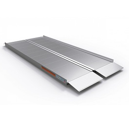 6 Feet Aluminum Singlefold Suitcase Ramp Signature Series 800 Lb Cap by EZ Access