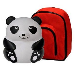 Pediatric Panda Nebulizer With Pacifier & Storage Bag