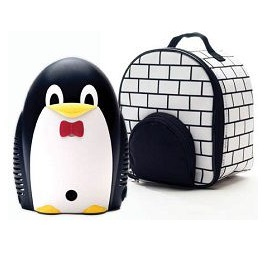 Pediatric Penguin Nebulizer With Pacifier & Storage Bag