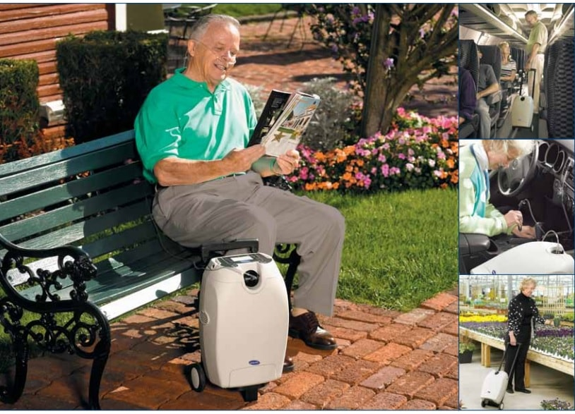 Invacare SOLO2 Transportable Oxygen Concentrator Kit