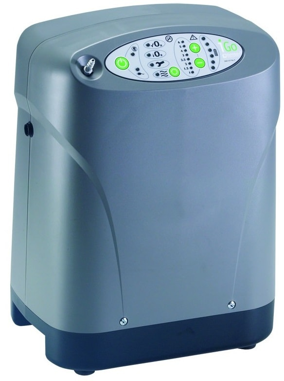Portable Oxygen Concentrator Machine iGo with Detachable Cart in Houston TX by Drive Medical