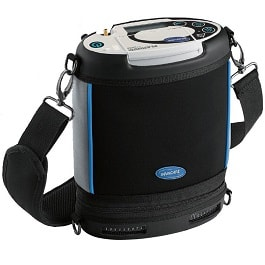 Portable Lite Oxygen Machine Weights 4.98 Lbs - 1 Battery in Houston TX by Invacare