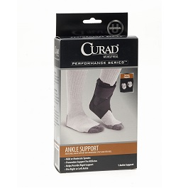 Universal Ankle Support  Stays  Right or Left  by Curad