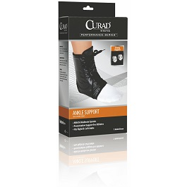 Lace Up Ankle Splints Many Sizes Available in Houston TX by Curad