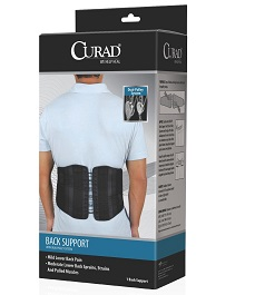 Low Profile Back Support  Dual Pulley System in Houston TX by Curad