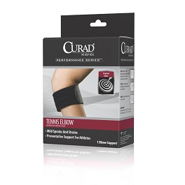 Tennis Elbow Compression Support Strap in Houston TX by Curad