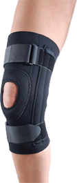 Neoprene Knee Support  Stabilized Patella in Houston TX by Ovation Medical