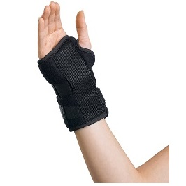 "6"" Foam Wrist Splint with Aluminum Stay (Right or Left)"